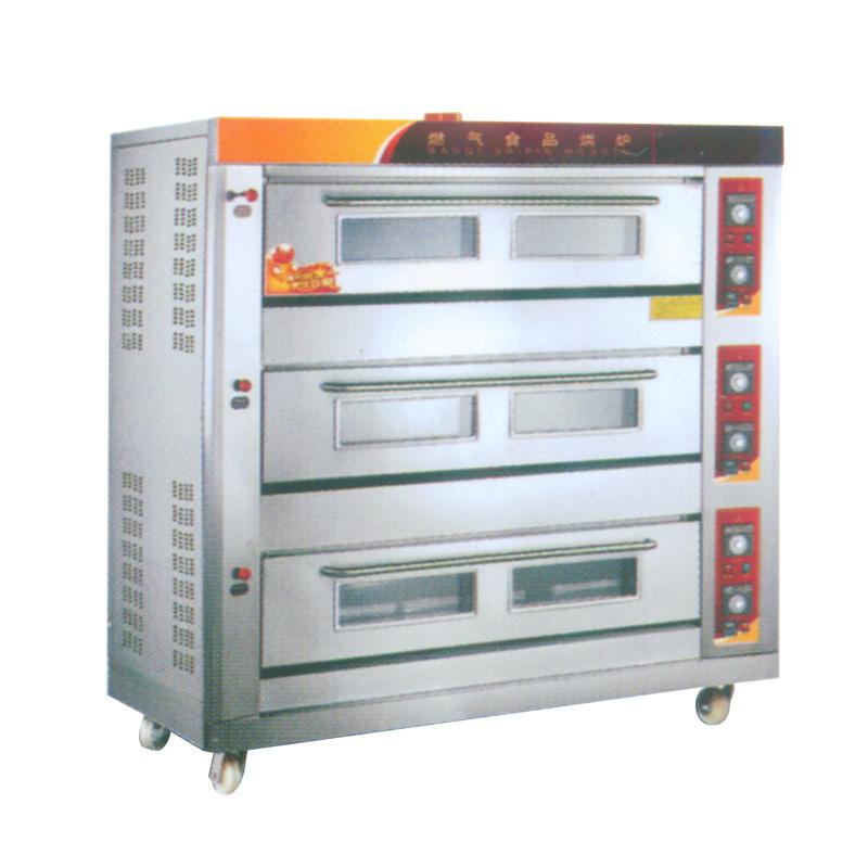 三门燃气食品烤箱